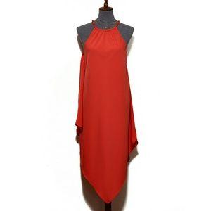 RACHEL Rachel Roy Halter Neck Handkerchief Dress